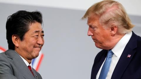 Trump, Abe say US and Japan have agreed in principle on trade deal