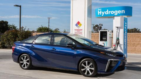 Hydrogen-fueled cars could be the future