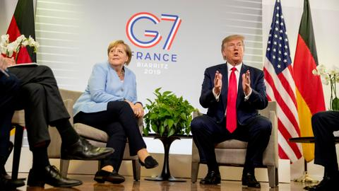 G7 commits $20M to help Amazon as Trump misses climate meeting