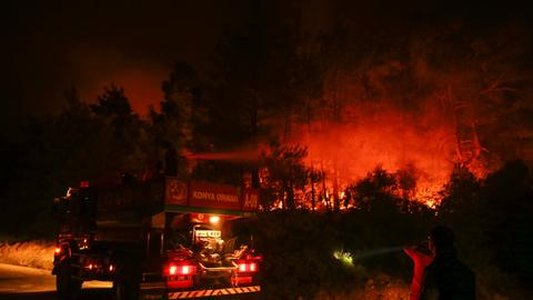 PKK-affiliate claims responsibility for several wildfires across Turkey