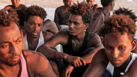 At least 40 migrants feared dead after boat capsizes off Libya