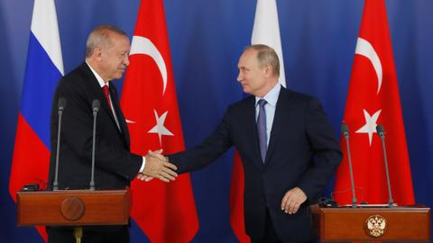 Turkey, Russia share 'serious concerns' over Syria fighting