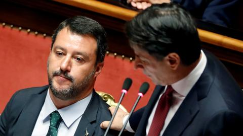 Italian parties reach deal to form new coalition government
