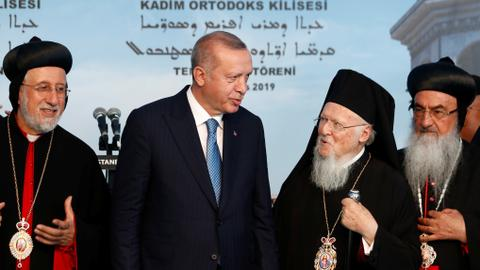 Turkish minorities feel upbeat with Republic-era's first Syriac Church