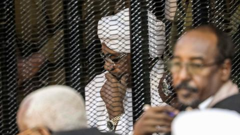 Sudan court charges Bashir with illegal use of foreign funds