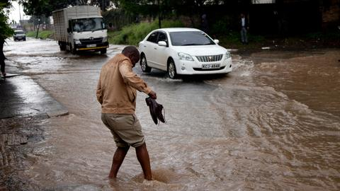 Flash floods kill at least six in Kenya's Hell's Gate park