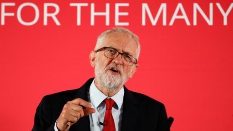Labour's Corbyn backs new UK election