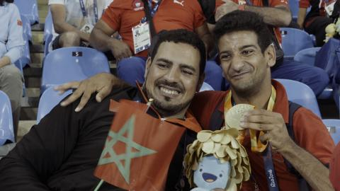 Morocco's Paralympic gold medallist struggles to earn a decent wage