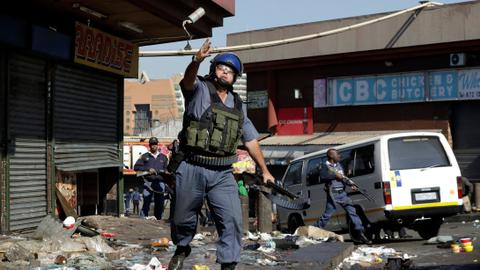 South African president says xenophobic violence 'unacceptable'