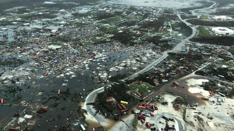 Hurricane Dorian devastates the Bahamas killing at least seven