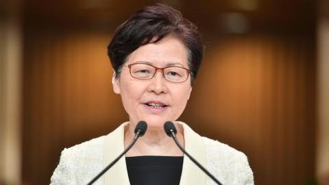 Hong Kong's Lam formally withdraws controversial extradition bill