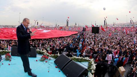 Erdogan seeks