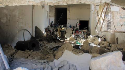 Air strikes kill at least 18 in northwestern Syria