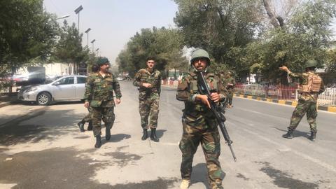 Car bomb strikes Afghan capital near US Embassy area