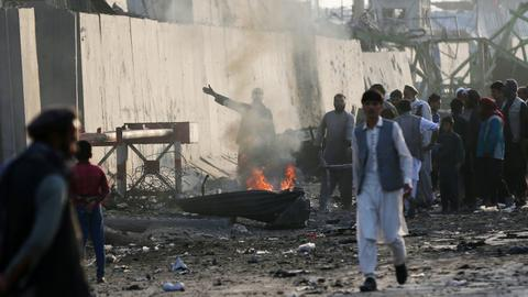Taliban attacks Afghan province as violence overshadows peace deal