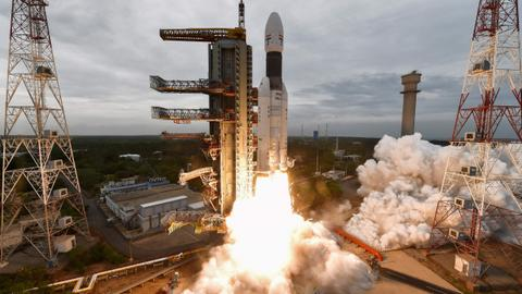 India's due to become fourth nation to land on the moon