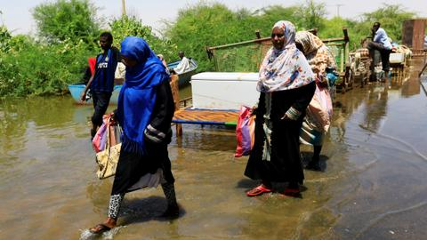 UN says floods, heavy rainfall in Sudan kill 78 people