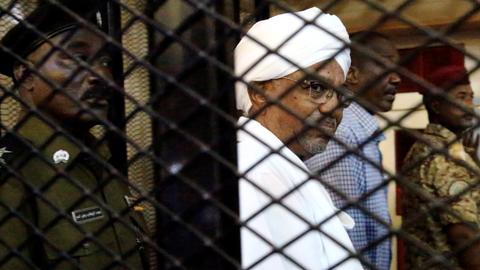 Sudan's Bashir kept key to room with millions of euros, court hears