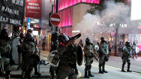 Will the US stop exporting tear gas to Hong Kong?