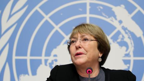 UN rights chief 'deeply concerned' over India 'actions' in Kashmir
