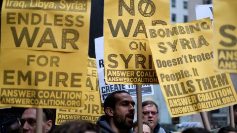 Poll suggests more than half of Americans approve of Syria air strikes