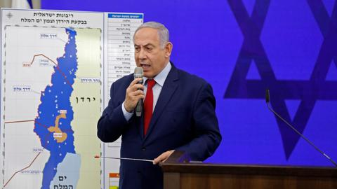 Israel's Netanyahu says he'll annex West Bank's Jordan Valley if re-elected