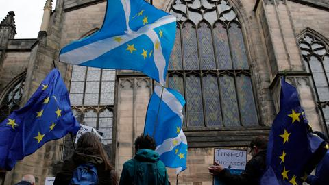Scottish court hands UK's Johnson fresh Brexit blow