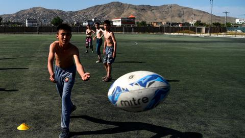 War-hardened Afghans discover a new sport: rugby