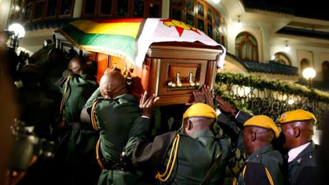 Zimbabwe's Mugabe to be buried in his village early next week – family