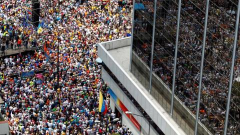 Anti-government protests in Venezuela enter second week