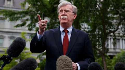 Bolton's departure doesn't make US foreign policy any easier to decipher