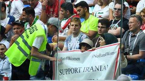 Iranian female football fan self-immolated after denied access to game