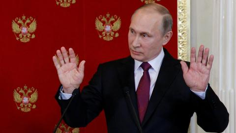 Putin says new chemical attacks in Syria to frame Assad imminent