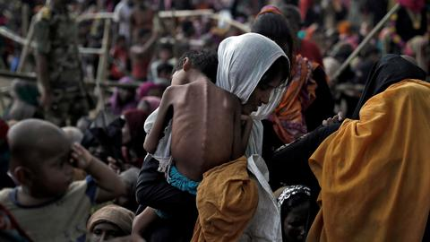 Rohingya refugees caught between a rock and a hard place