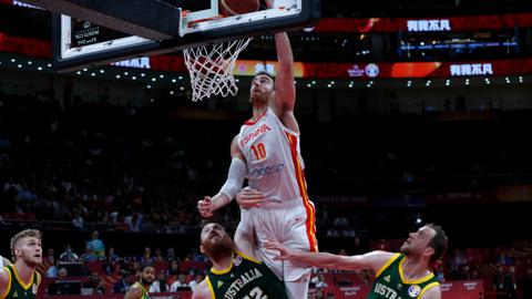 Spain beat Australia 95-88, secures spot in FIBA World Cup final