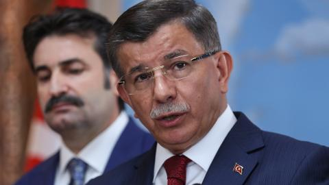 Former Turkey PM Davutoglu resigns from governing party