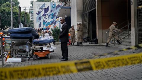 Death toll in Rio de Janeiro hospital fire rises to 11