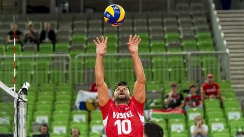 Turkey beat North Macedonia 3-0 in European Volleyball