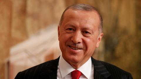 Turkey's Erdogan says will discuss with Trump buying US Patriot missiles