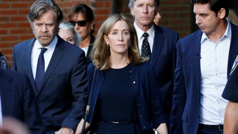 Actress Huffman gets 14 days jail in US college admissions scandal