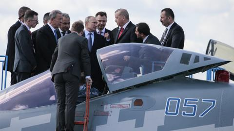 Russia, Turkey eyeing fighter jet deal - Kremlin