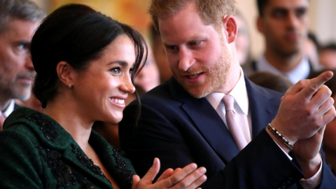 Duchess of Sussex returns to work to launch new charity fashion range