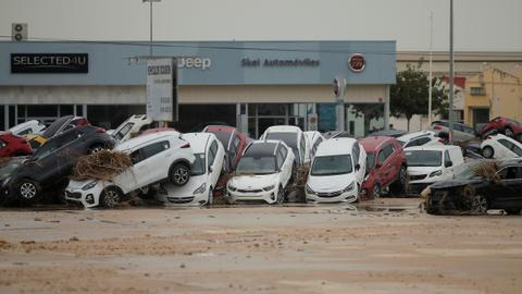 Spanish PM visits flood-hit areas as death toll rises to six