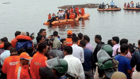 At least 12 dead, 35 missing in boat accident on southern India river