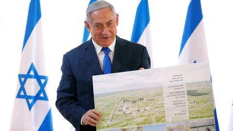 Israel approves new settlement two days before polls