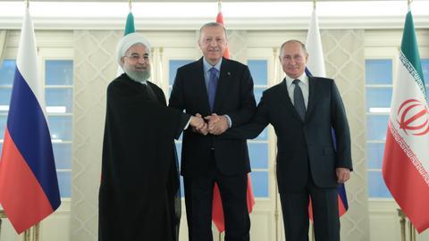 Turkey, Russia, Iran seek to prevent humanitarian crisis in Syria's Idlib