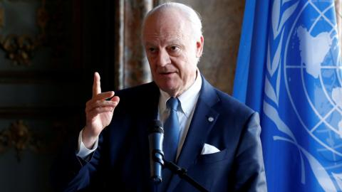 UN's Syria envoy seeks joint Russia-US effort for