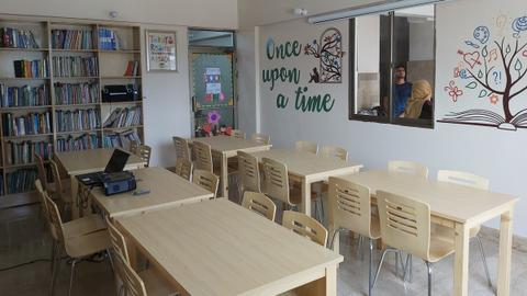 Turkey sets up library for underprivileged children in Pakistan's Karachi