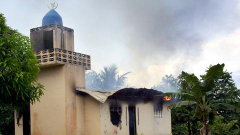 Fire in Liberia school leaves dozens dead