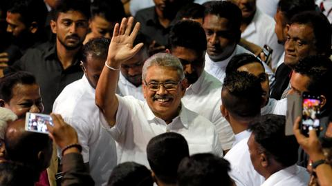 Sri Lanka to hold presidential vote on November 16